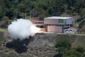 O ensaio forneceu 75 parâmetros físicos que serão analisados pelos cientistas do Programa Espacial Brasileiro.