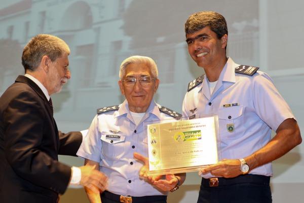 Base Aérea do Galeão, 7º Distrito Naval e 16º Batalhão de Logística foram premiados em Brasília