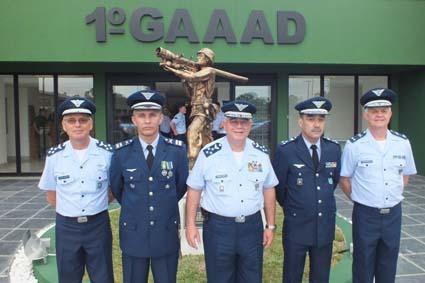 O grupo criado teve origem na 1ª Companhia de Artilharia Antiaérea de Autodefesa do Batalhão de Infantaria da Aeronáutica Especial de Canoas