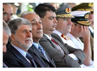 Programa encerrou visita oficial de cinco dias ao país. Ontem (26), ministro da Defesa reuniu-se com autoridades chilenas para tratar de cooperação