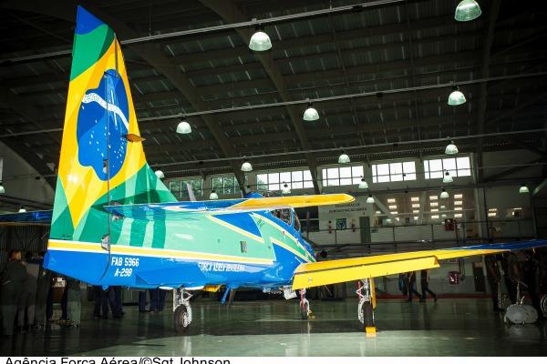 Veja fotos inéditas do A-29 Super Tucano com as cores da Esquadrilha