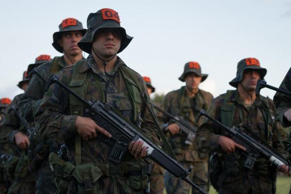 Etapa realizada em Cachimbo, no sul do Pará, prevê que militares fiquem de seis a oito dias na mata