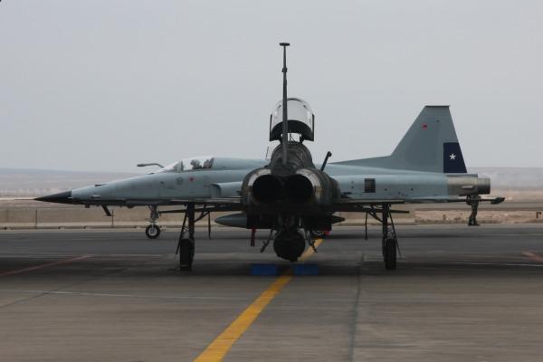 Treinamento de duas semanas de combate aéreo também testa áreas de logística e manutenção