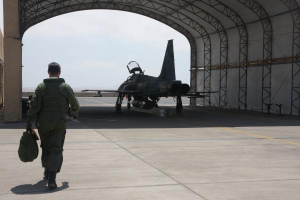 Foram realizadas mais de 30 missões de combate simulado no Chile
