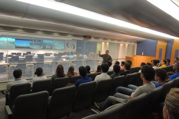 A visita faz parte da Semana de Engenharia da Universidade Federal do Maranhão