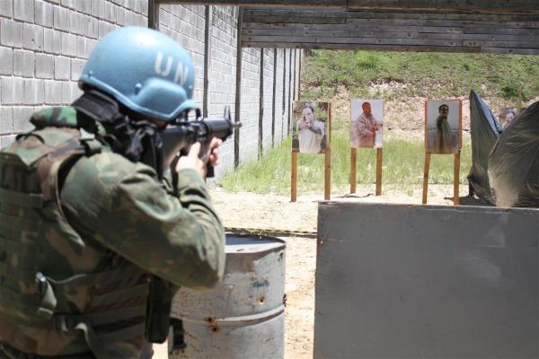 Curso ocorreu no Centro Conjunto de Operações de Paz do Brasil (CCOPAB), no Rio de Janeiro