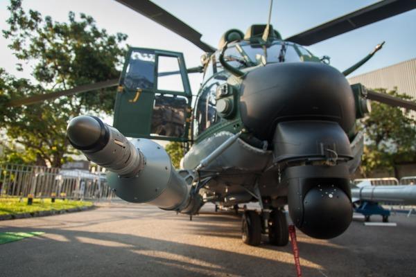 O H-36 da versão operacional da FAB será o primeiro da América Latina com sonda para ser reabastecido em voo