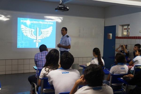 O evento foi realizado para estudantes do ensino fundamental na capital pernambucana