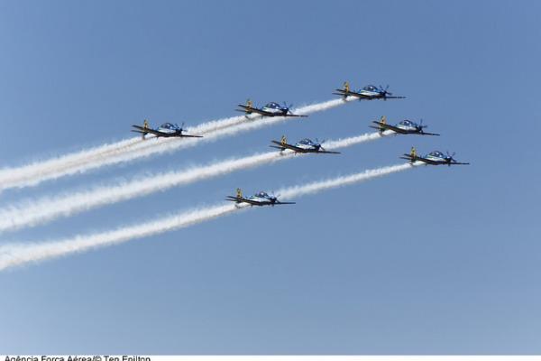 No período foram realizadas 765 missões de perfil acrobático dedicadas exclusivamente ao programa