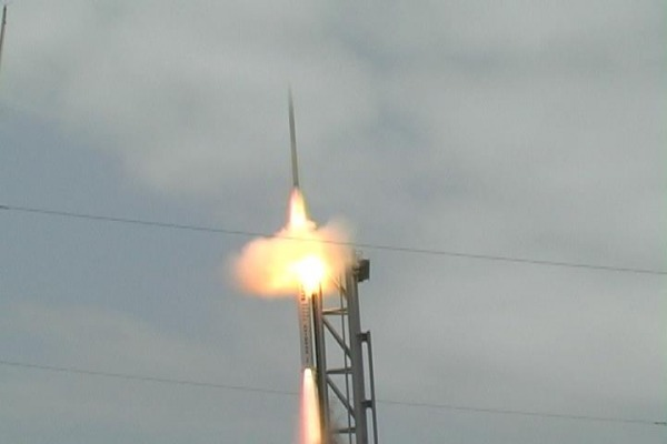Veículo voou por 2 minutos e 44 segundos até a dispersão na área de impacto no Atlântico
