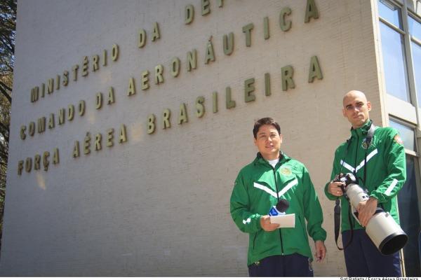 Repórter e fotógrafo produzirão conteúdo jornalístico sobre os 6º Jogos Mundiais Militares