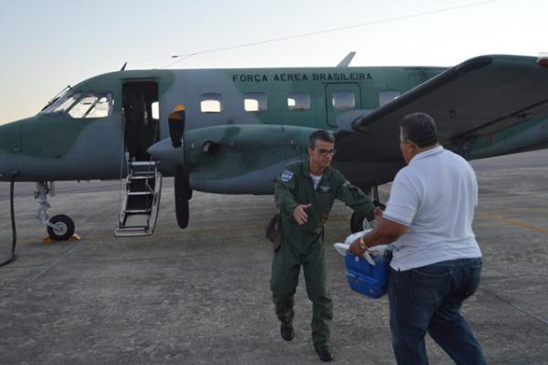 O Segundo Esquadrão de Transporte Aéreo foi o responsável pela missão