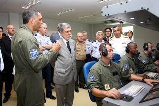 Sediados na Bahia, os aviões de patrulha marítima serão empregados na vigilância das águas territoriais brasileiras.