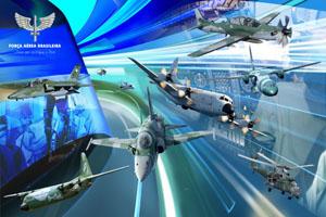 Banner Aeronaves 150x100 cm
