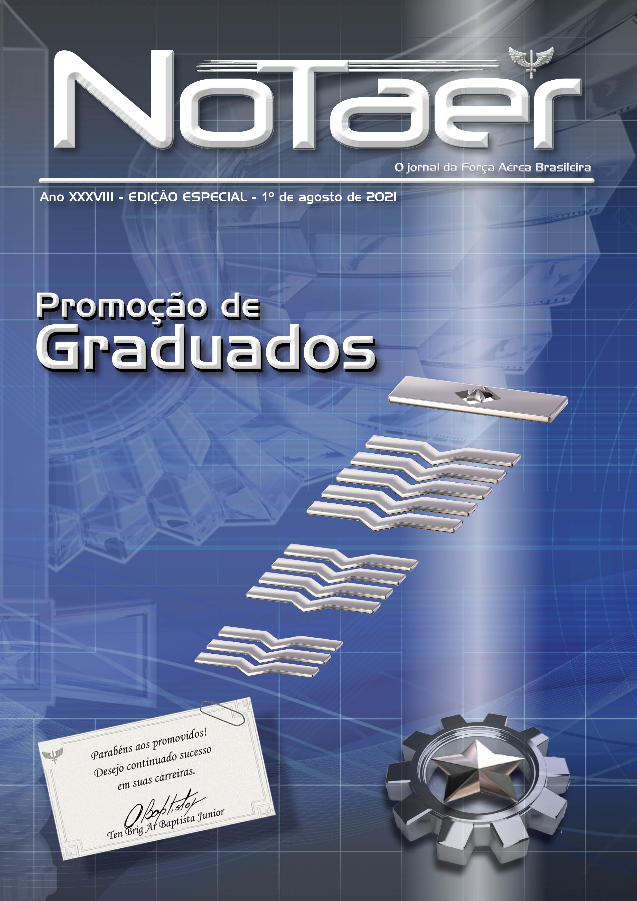 NOTAER - Especial promoção de Graduados - 1º de agosto de 2021