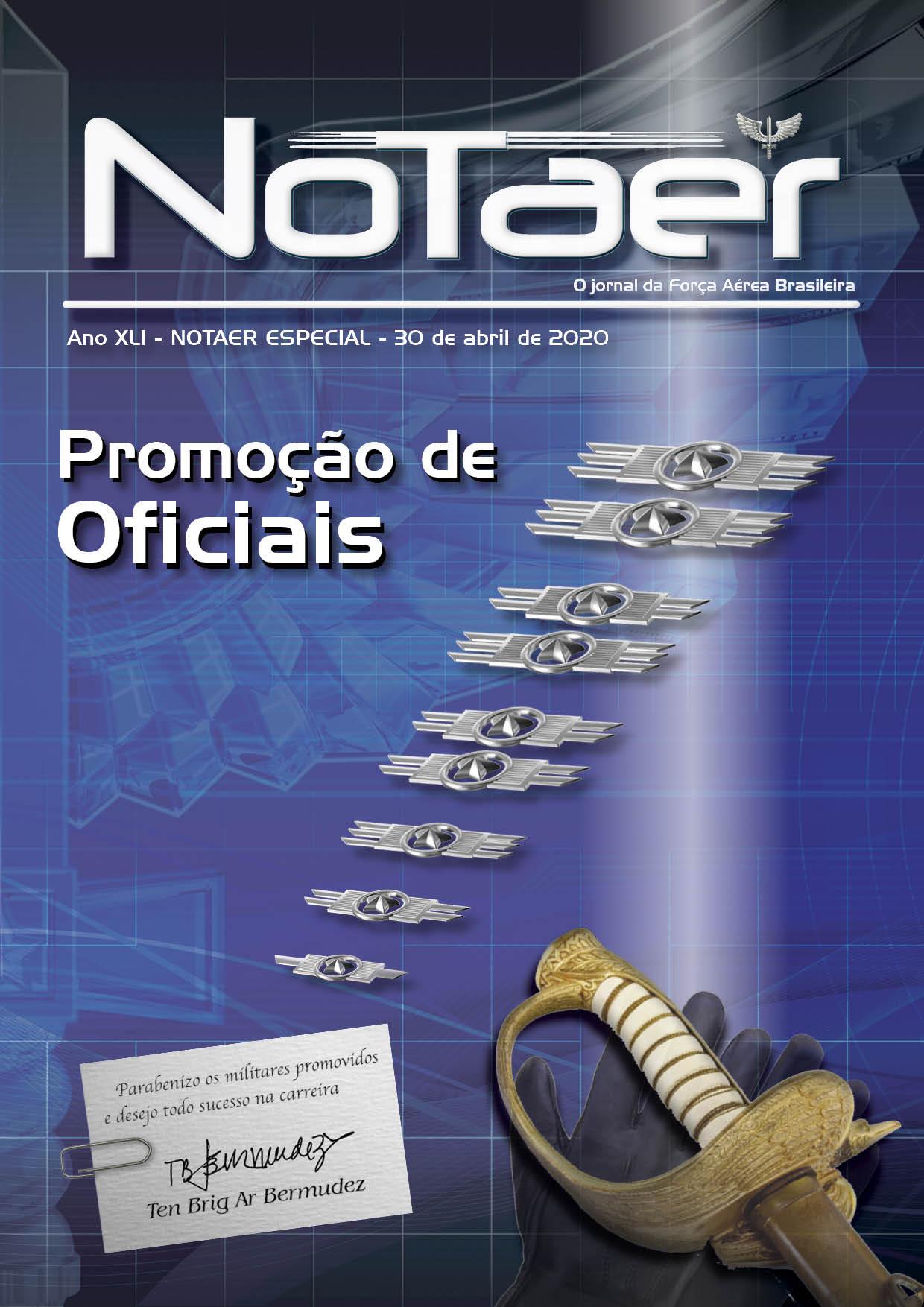 NOTAER - Especial Promoção de Oficiais - 30 de abril de 2020