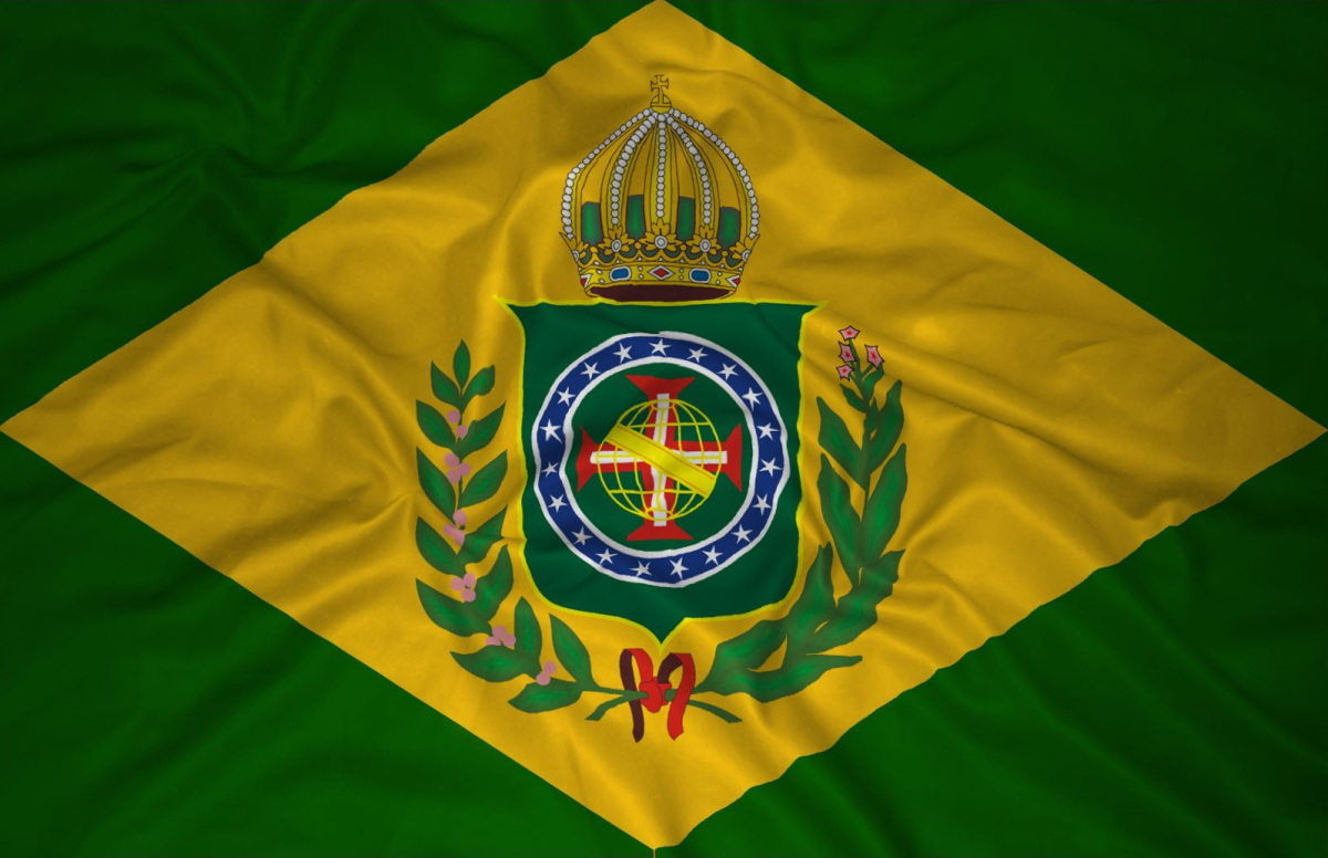 A Primeira Bandeira Do Brasil Republica 19 de novembro - dia da bandeira