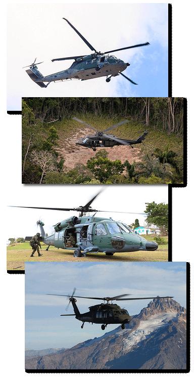 Fotos do H-60 Blackhawk