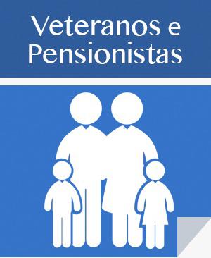 Link para área de inativos e pensionistas