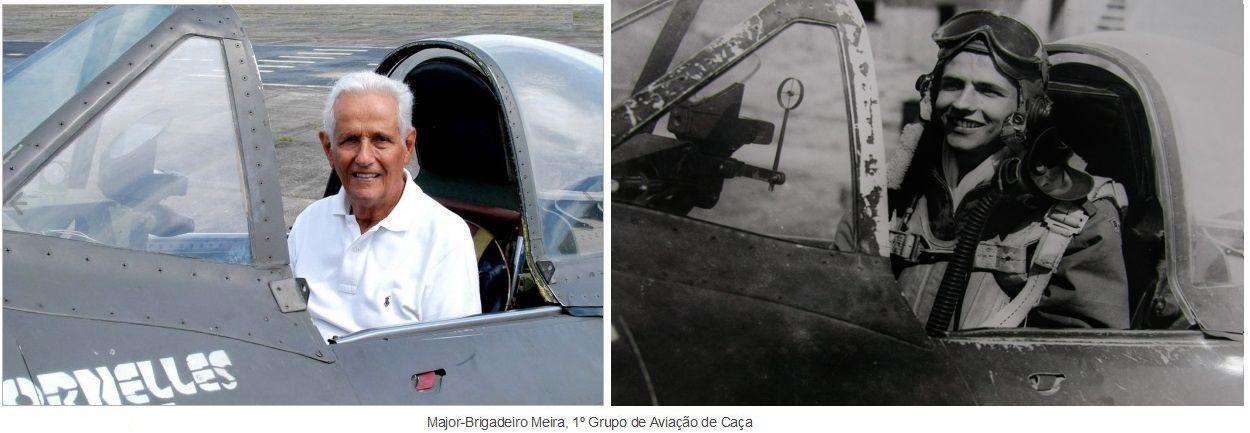 31/03/2013 - FAB se despede do herói de guerra Major-Brigadeiro Meira