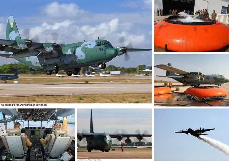 Mostraré aeronave Brasileña luchó contra incendios en Chile