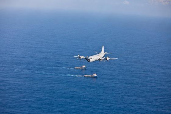 Esquadrão Orungan recebe prêmio Controle Naval de Tráfego Marítimo P3am_navios