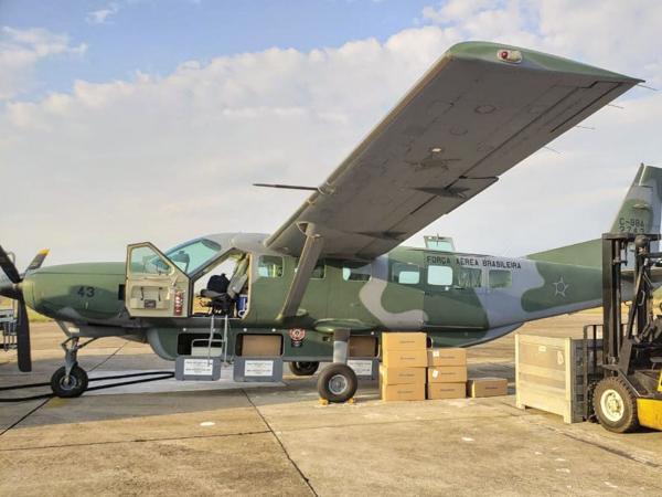 Os equipamentos serão destinados para a Secretaria de Saúde, PM e Bombeiros de Anápolis (GO), e Polícia Civil do Distrito Federal