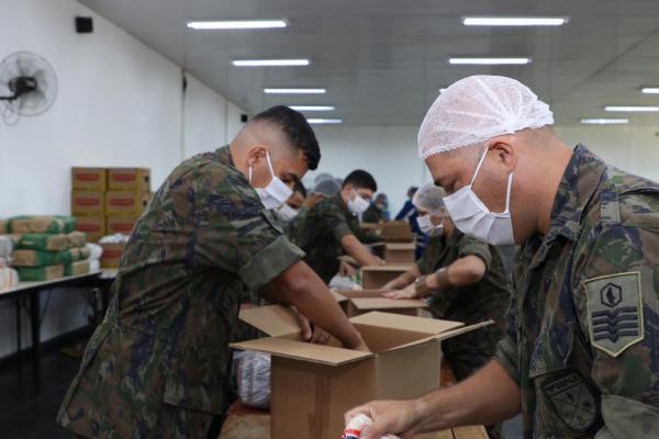 O programa, desenvolvido pelas Forças Armadas, auxilia jovens em situação de vulnerabilidade social