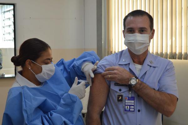 Campanha tem o intuito de preservar a saúde dos integrantes das Forças Armadas, bem como da população em geral