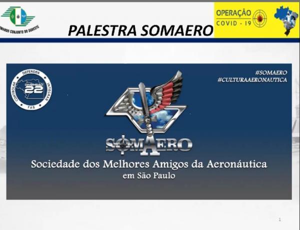 A explanação das atividades demandadas pelo Ministério da Defesa em apoio à população brasileira foi realizada por meio de videoconferência