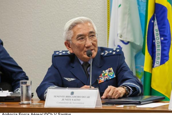Brigadeiro Saito na Audiência Pública  Cb Vinícius Santos / Agência Força Aérea
