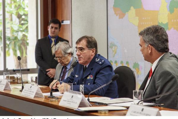 Diretor de operações do DECEA, Brigadeiro do Ar José Alves Candez Neto  Agência Força Aérea/Sgt Rezende