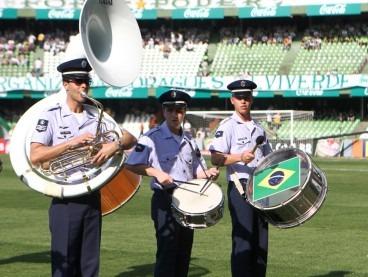 Integrantes da Banda de Música  Suboficial Zampieri / CINDACTA II
