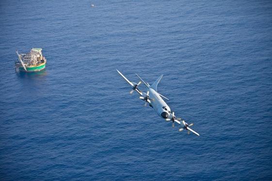 O patrulheiro P-3AM é a aeronave da FAB que atua na defesa do pré-sal  1º/7º GAV