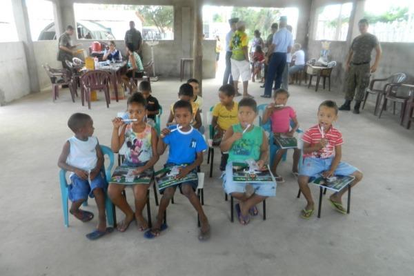 Missão ACISO na Comunidade Mamuna  2º Ten Huxley/ CLA