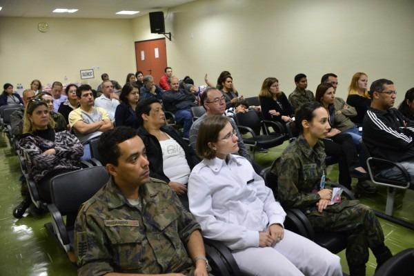 Evento reuniu reuniu pacientes, familiares e profissionais da saúde em palestra   Soldado Lucas/GIA-SJ
