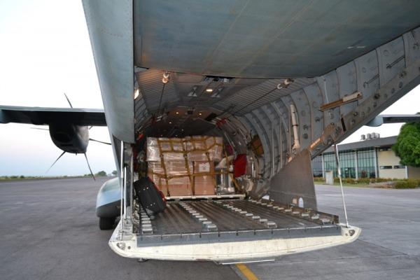 C-105 Amazonas transporta mais de uma tonelada de medicamentos  S1 Pabricio