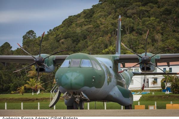 SC-105 Amazonas realiza missões de até 7 horas