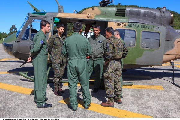 O Sargento faz parte do Esquadrão Pelicano  Sgt Bruno Batista / Agência Força Aérea