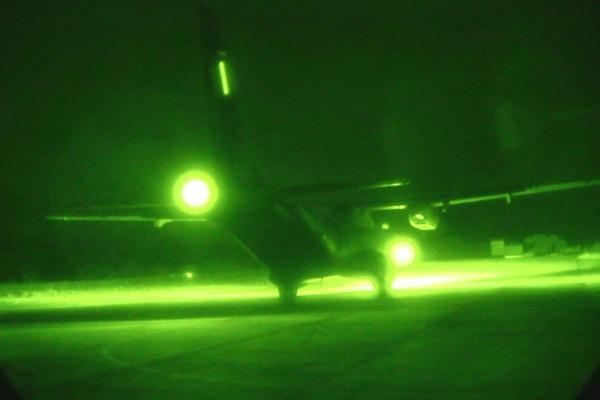 C-105 Amazonas visto por NVG  2S Elias