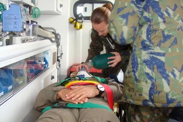 FAB treina apoio ao resgate de vítimas  Tenente Alves / COMGAP