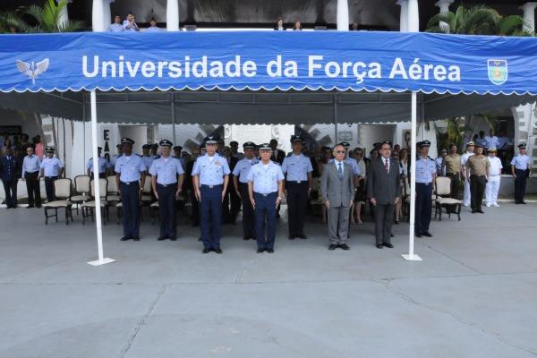 Cerimônia militar marca os 30 anos da UNIFA  S1 Bueno/UNIFA