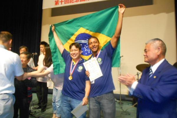 Brasil é ouro no Aikido  Delegação Brasileira