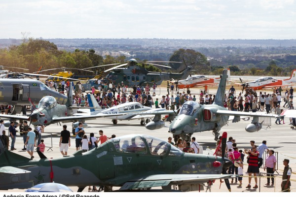 Aeronaves ficam expostos na Base Aérea de Brasília  Sargento Rezende/ Agência Força Aérea