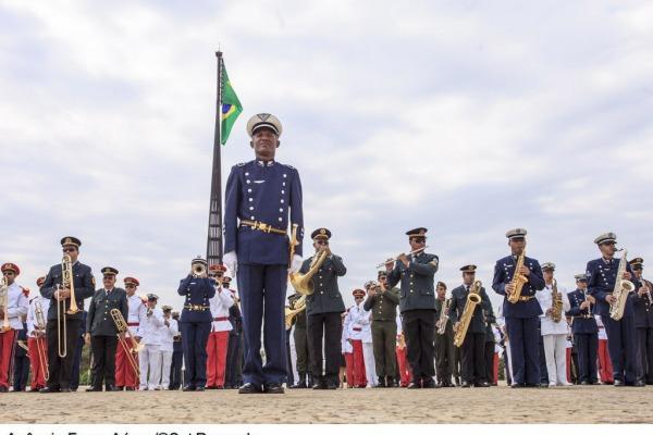 Apresentação da banda mista das Forças Armadas  Sargento Rezende / Agência Força Aérea