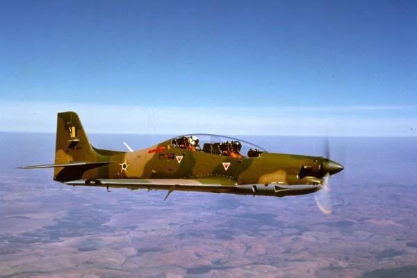 A aeronave também realiza ataque leve  Arquivo
