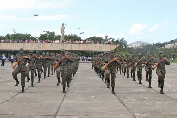 A guarda do Monumento aos Mortos da 2º GM é de responsabilidade da FAB  Sargento Rocha / III COMAR