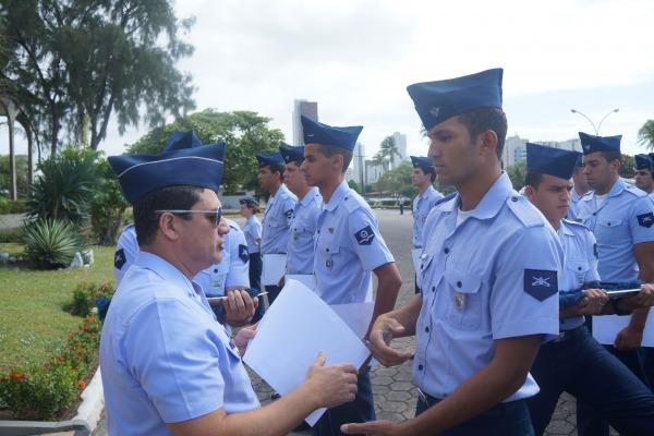 Formatura projeto soldado-cidadão  Soldado R Menezes / COMAR II