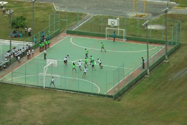 As atividades recreativas incentivam o trabalho em equipe e a socialização  Tenente Bezerra/II COMAR