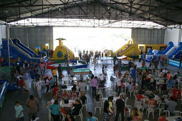 800 pessoas participam do Dia das Crianças  Soldado Feliciano